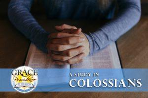 Colossians SS