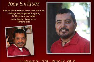 Joey Enriquez 1974-2018